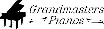 Grandmasters Pianos Retina Logo